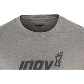 inov-8 Tri Blend Inov-8 Lyhythihainen T-paita Miehet, dark grey